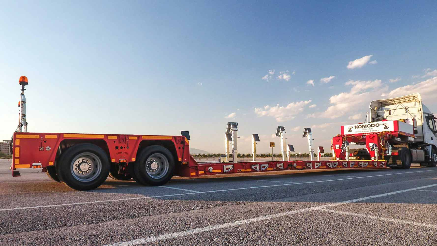 2 AXLE EXTENDABLE LOW LOADER